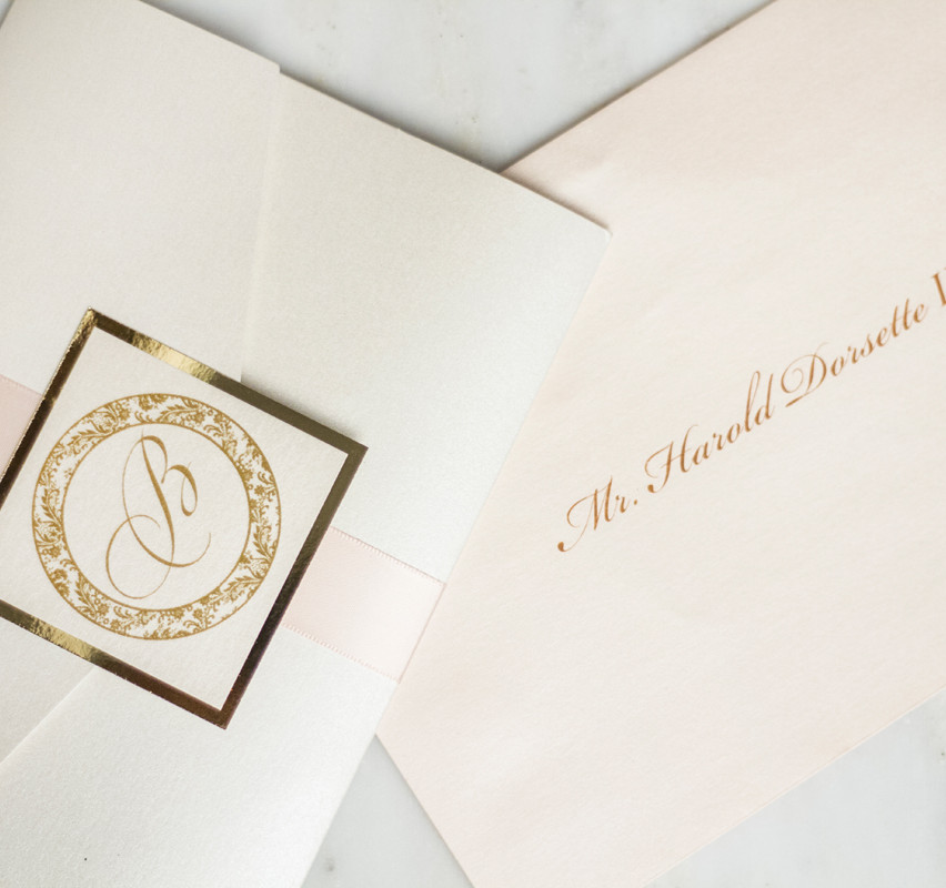 Monogram with envelope printing. We do it all.