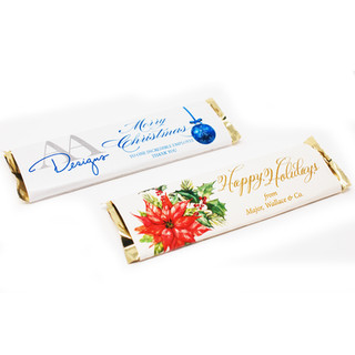 Holiday Chocolate Wrappers