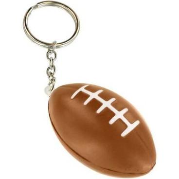 NEW - Squishy Football Key Chain Stress Ball