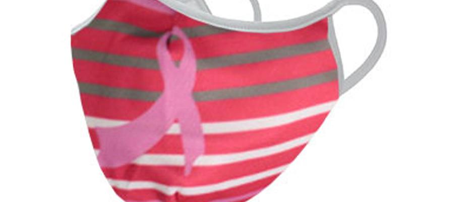 Pink Banner Breast Cancer Awareness Mask