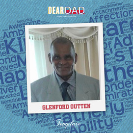 Happy Father's Day Glenford Outten