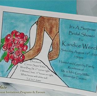 Kandice Bridal Shower Invite