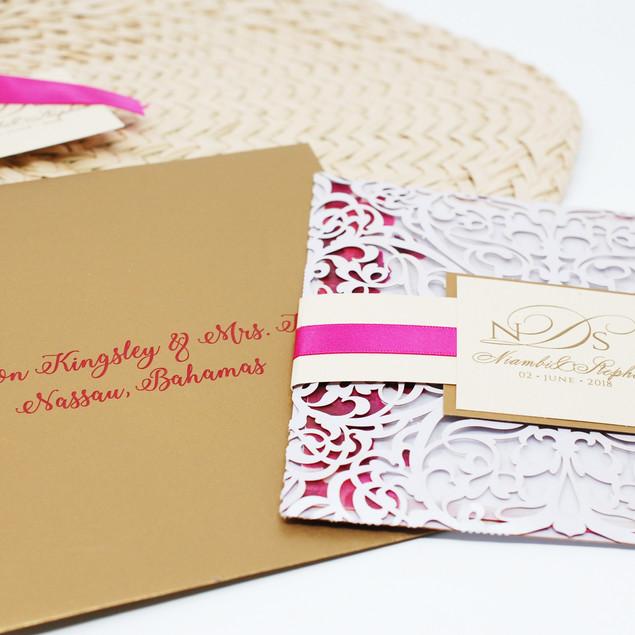 Personalized Envelope & Invitation