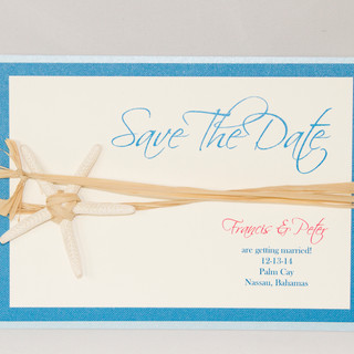 Save The Date - Starfish