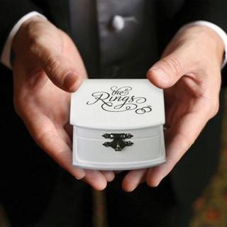 White Ring Box