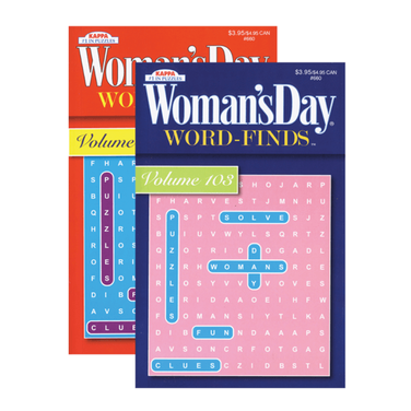 KAPPA Woman's Day Word Finds Puzzle Book-Digest Size