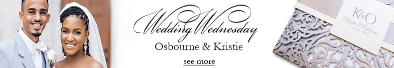 Wedding Wednesday Couple & Invite; Wishing you A Merry Christmas & A Happy New Year