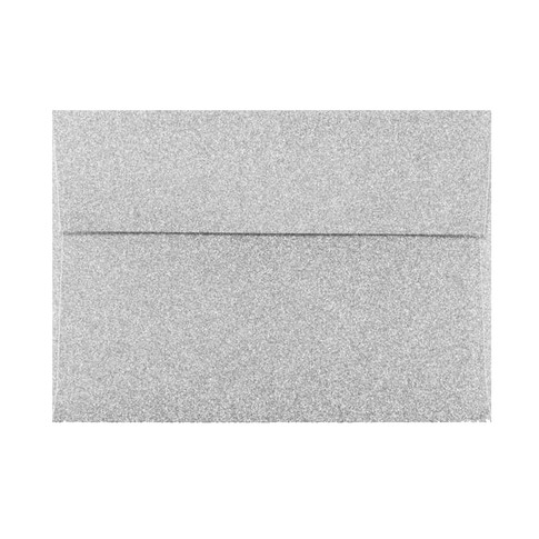 Silver Mirri Sparkle A7 Envelope