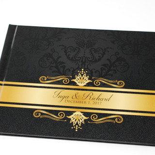 Hardcover Guest Book