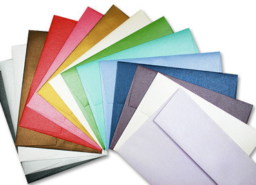 Metallic Stardream Envelopes