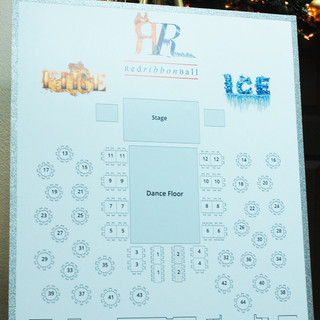 Red Ribbon Ball Fire & Ice Floor Plan