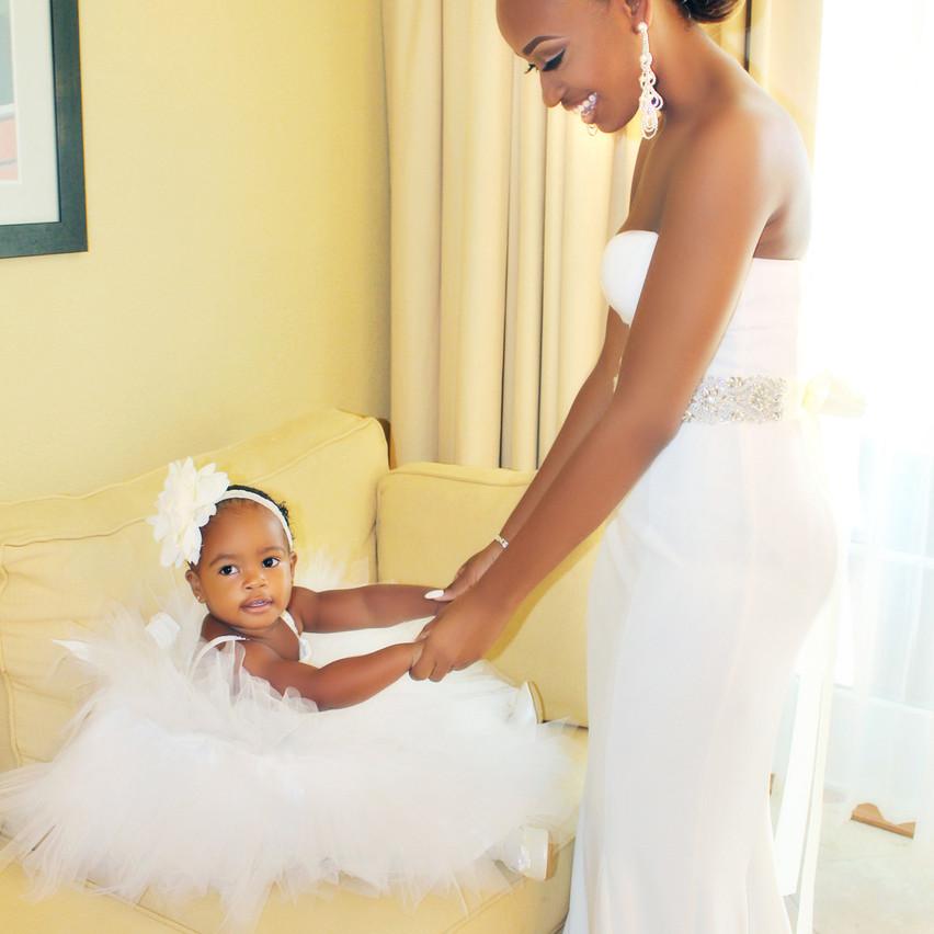 Mom & Her Little Princess