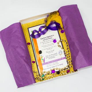 Box Style Theme Invitation