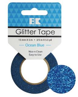 Ocean Blue Glitter Tape
