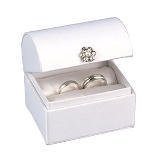 Satin Ring Box - White