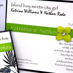 Katrina & Nathan Invitation