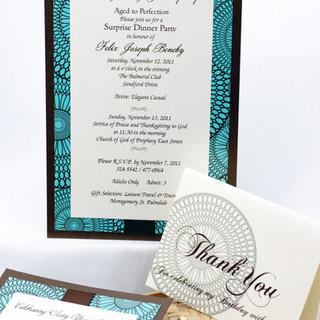 Invitation & Thank You Card