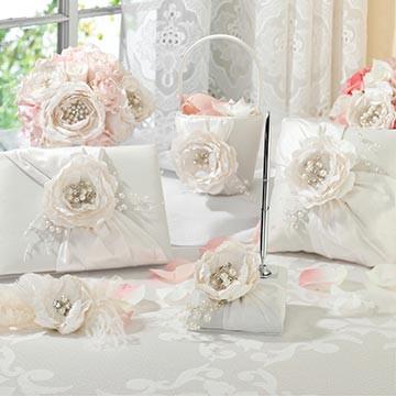Vintage White Rose Set