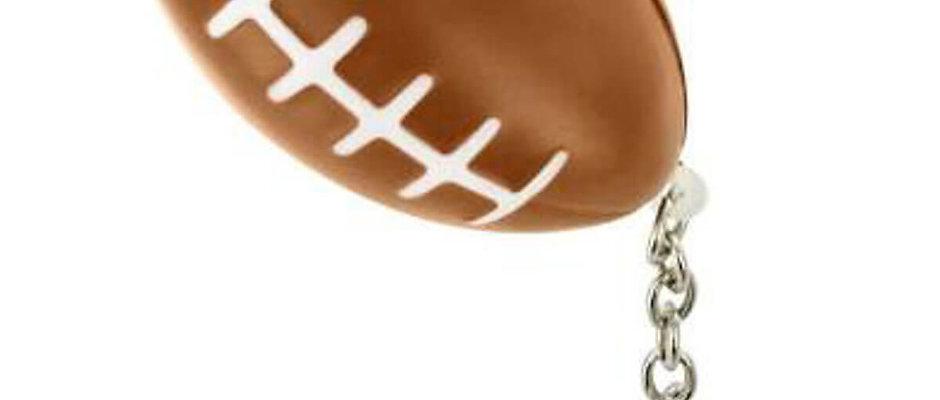 Squishy Football Key Chain Stress Ball