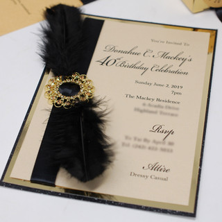 Brooches & Feathers