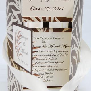 Patterned Paper Gatefold