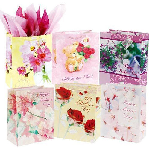 For A Special Mom On Matte Gift Bag