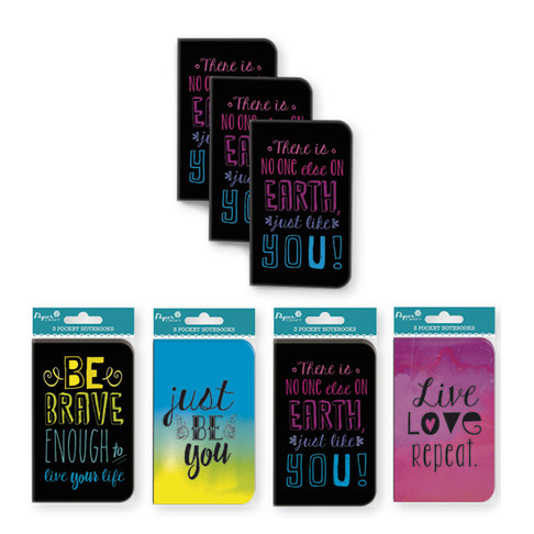 Inspirational Pocket Notebooks