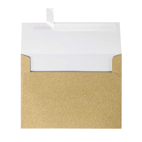 Gold Mirri Sparkle A7 Envelope