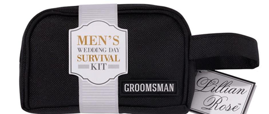 Men Bridal Survival Kit Bag