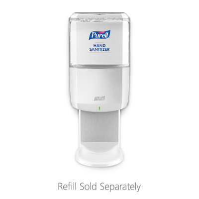DISPENSER PURELL ES8 TOUCH FREE SANITIZER WHITE EACH