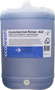 COMMERCIAL RINSE AID