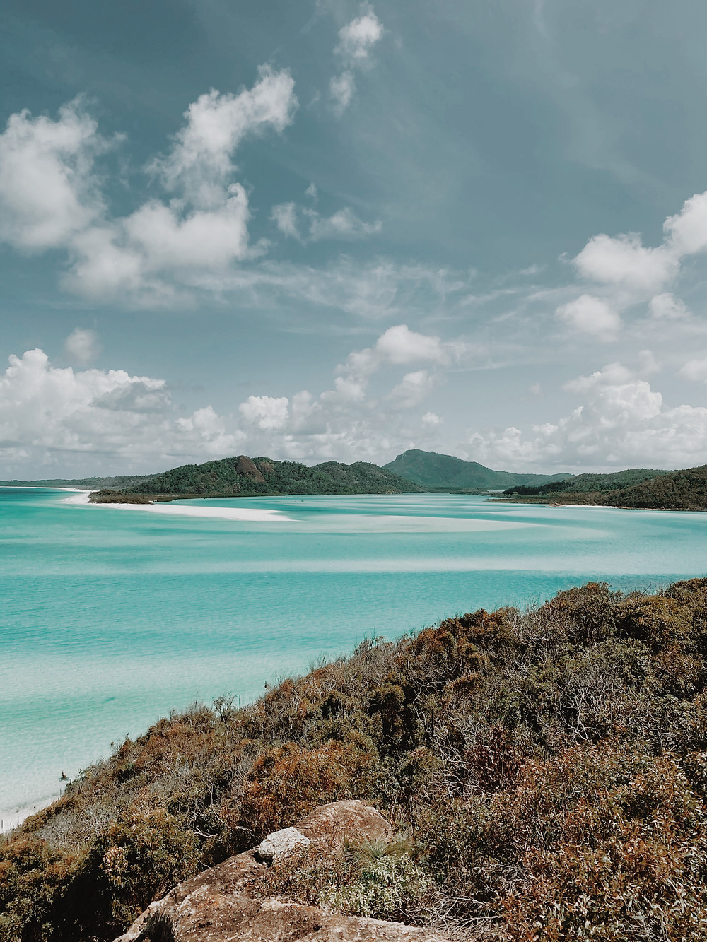 View from Hill Inlet, Whitsundays
