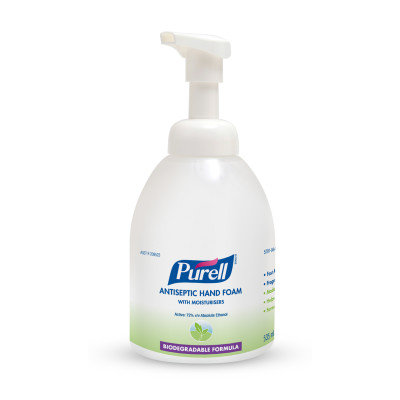 PURELL 70% FOAM PUMP BOTTLE 4X535mML