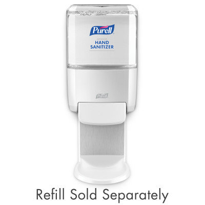 DISPENSER PURELL ES4 MANUAL SANITIZER WHITE EACH
