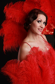 Dolly Delicious Burlesque Red Fan 4.JPGed