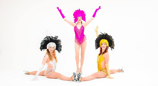 Ooh La La Wow! Show Girls Splits arms up.jpg