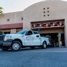 Camión de mantenimiento de jardines Desert Arc