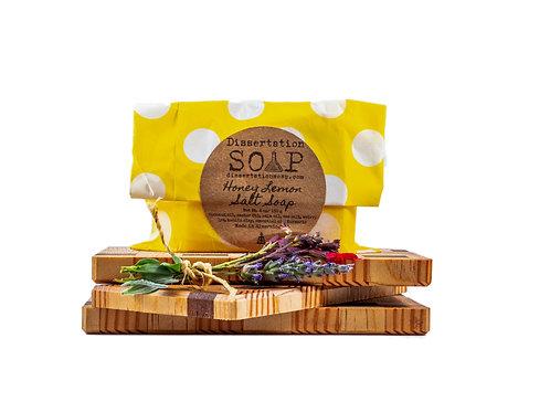 Honey Lemon Salt Soap