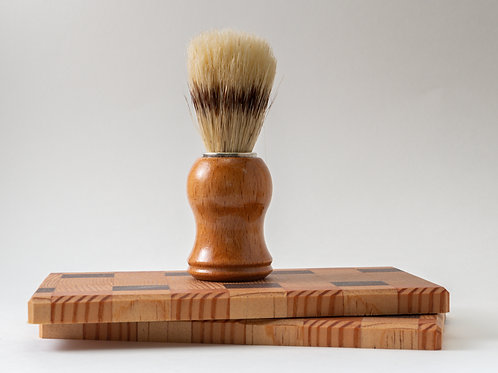 Wood Handle Boar Shave Brush