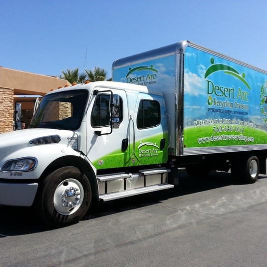 Desert Arc Recycling Truck
