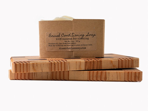 Unscented Brush Conditioning Soap