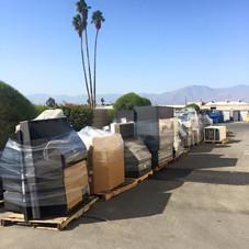 Reciclaje Desert Arc - Palets