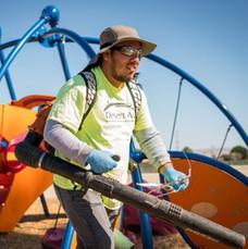 Cliente de mantenimiento del paisaje de Desert Arc
