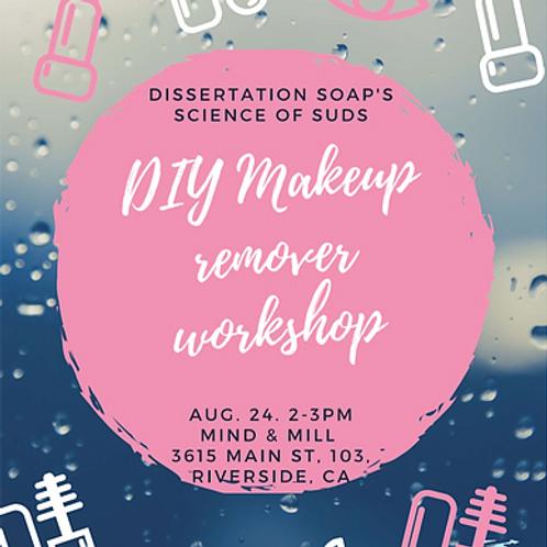 DIY Makeup Remover Workshop