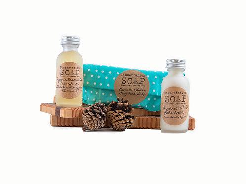 Travel Organic Skin Care Kit