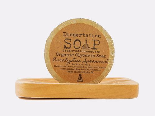 Eucalyptus Spearmint Organic Glycerin Soap