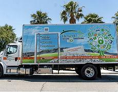 Desert Arc shredding division truck