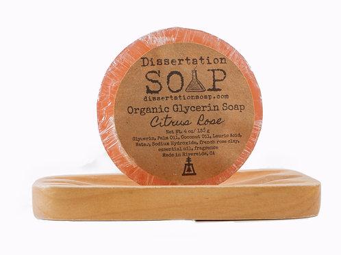 Citrus Rose Organic Glycerin Soap