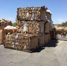 Reciclaje Desert Arc - Fardos