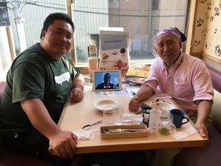 猿橋小の先生とお会いしました。